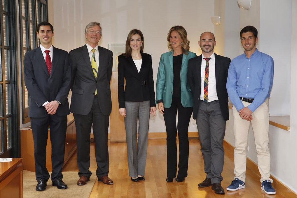 La Reina entrega los Premios Princesa de Girona en nombre de su hija
