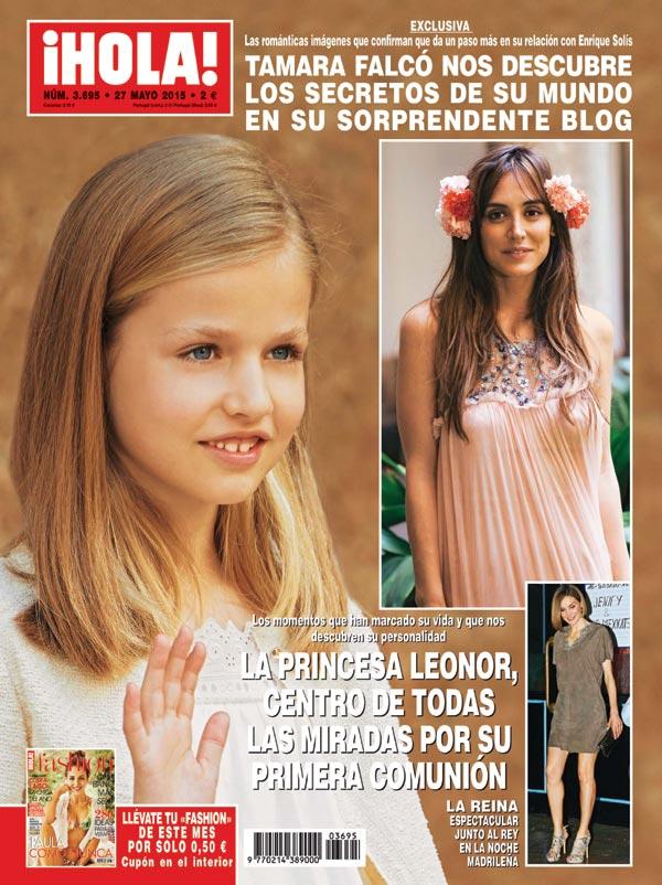 En ¡HOLA!, los momentos que han marcado la vida de la princesa Leonor y nos descubren su personalidad