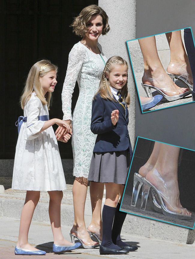 Los originales zapatos de la reina Letizia