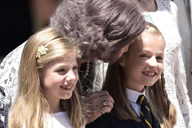 Princesa Leonor: 'Lo voy a celebrar en casa'