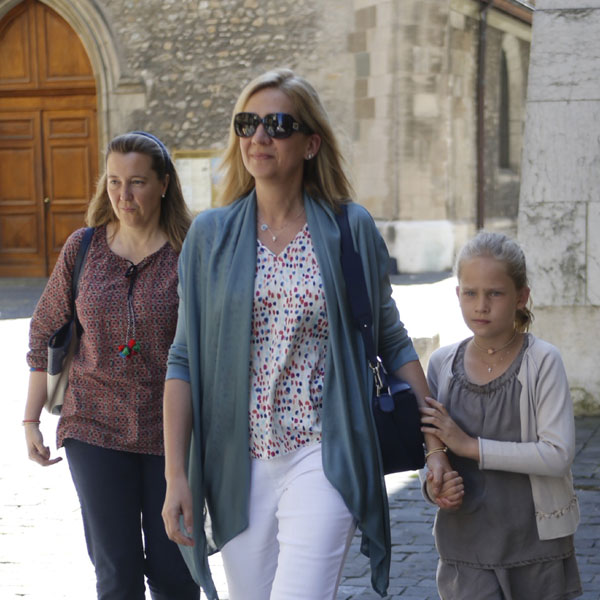La reina Sofía, el mejor apoyo de la infanta Cristina en su 50 cumpleaños