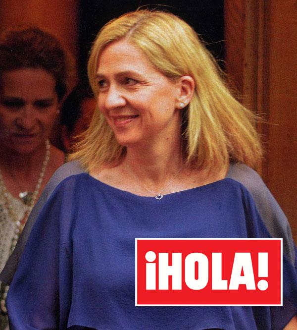¡HOLA! desvela cómo celebró la infanta Cristina su 50 cumpleaños