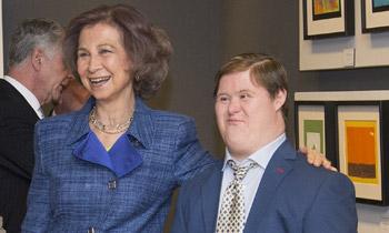 La reina Sofía siempre volcada con el arte y la solidaridad