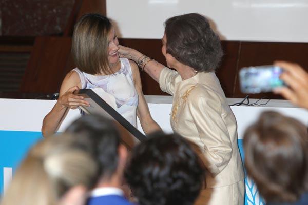 El cariño que une a la reina Letizia y la reina Sofía: 'La palabra suegra nunca ha sonado mejor'