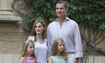 Los Reyes y sus hijas, escapada de fin de semana a Mallorca