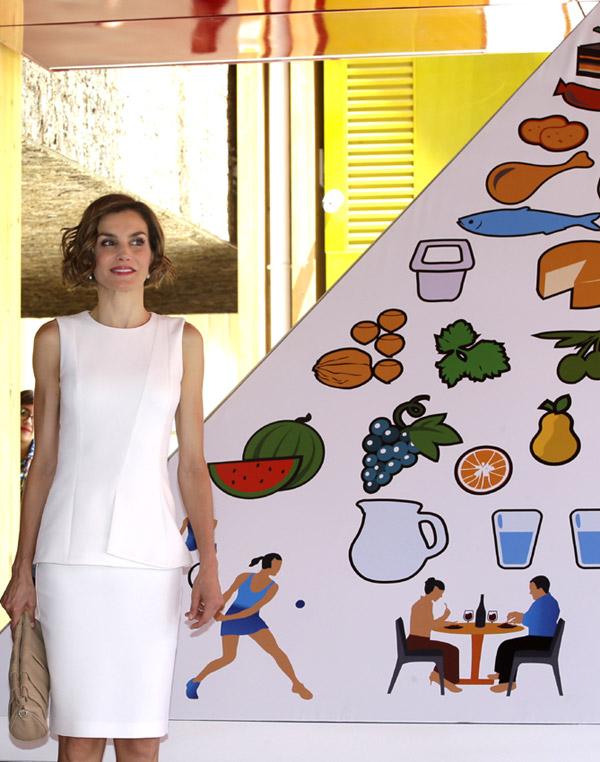 La Reina se estrena en Italia como embajadora de la FAO