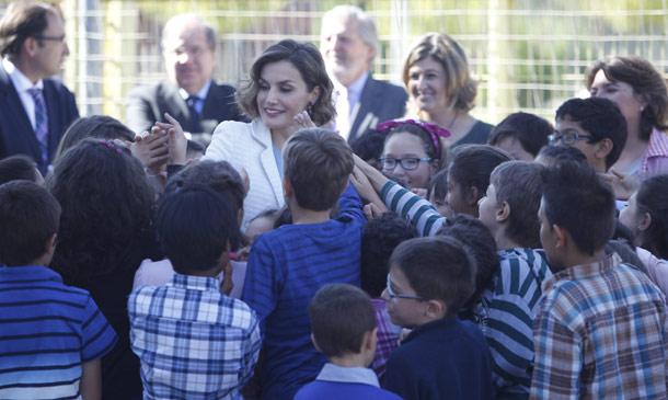 La reina Letizia, la más popular en 'la vuelta al cole'