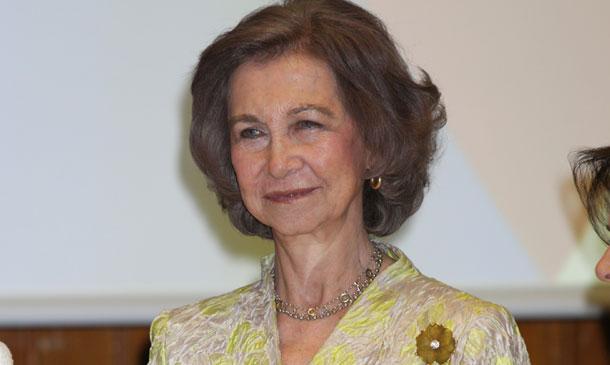 La reina Sofía, camino del Nobel de la Paz