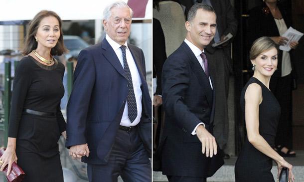 La presentación oficial como pareja de Isabel Preysler y Mario Vargas Llosa en Madrid y ante los Reyes