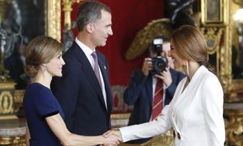 Los Reyes reciben a casi 2.000 personas en Palacio