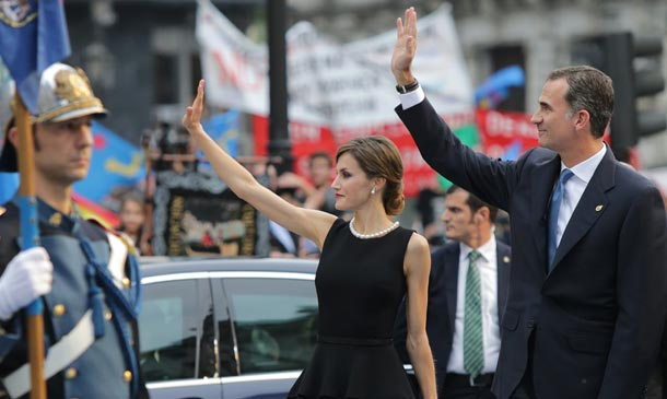 Los Reyes presiden los primeros Premios Princesa de Asturias