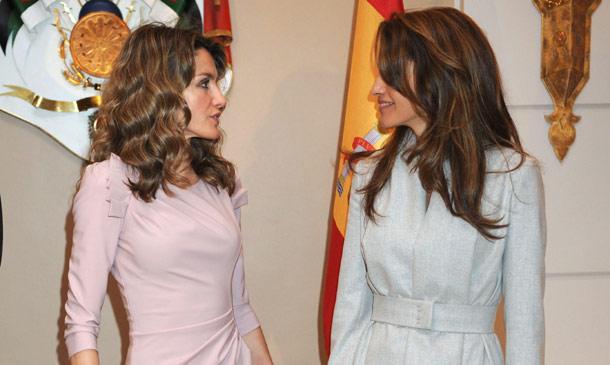 El esperado reencuentro de doña Letizia y Rania de Jordania se producirá el jueves en Madrid