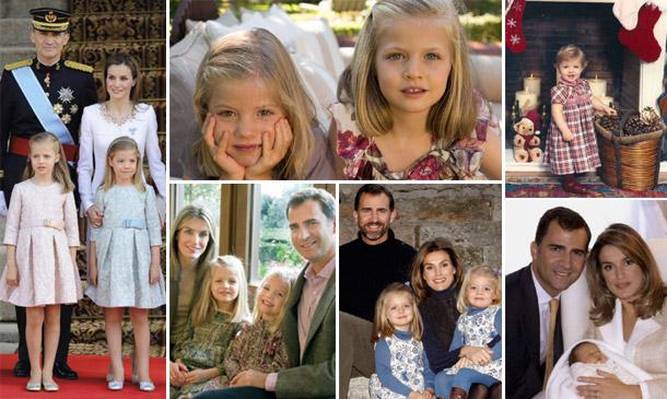Recordamos las felicitaciones navideñas de la última década de don Felipe y doña Letizia