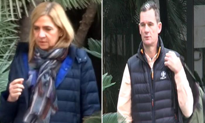 La infanta Cristina e Iñaki Urdangarin regresan a Barcelona para preparar el juicio por el caso Nóos