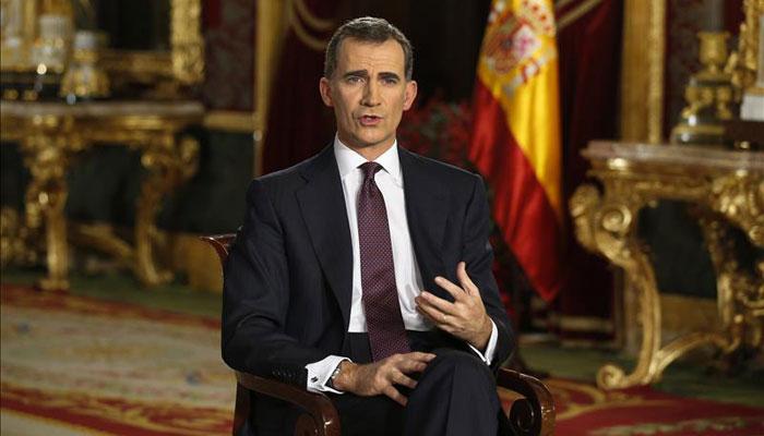 Don Felipe llama al diálogo político y la unidad de España en su segundo mensaje de Navidad como Rey