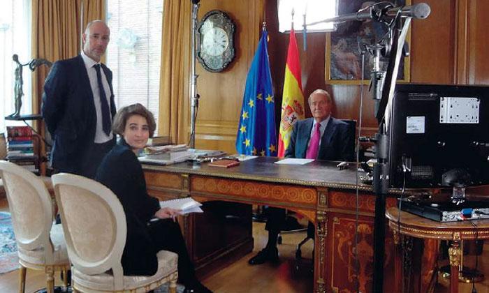 Últimas confidencias del rey Juan Carlos a Laurence Debray