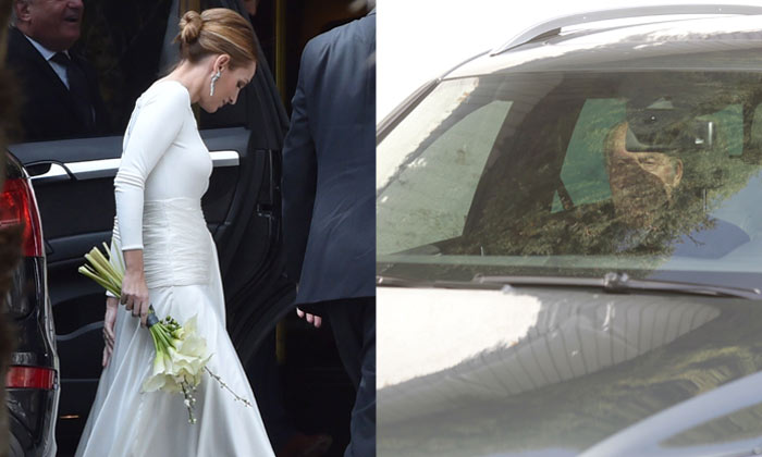 El rey Juan Carlos acude a la boda de Beltrán Gómez-Acebo y Andrea Pascual