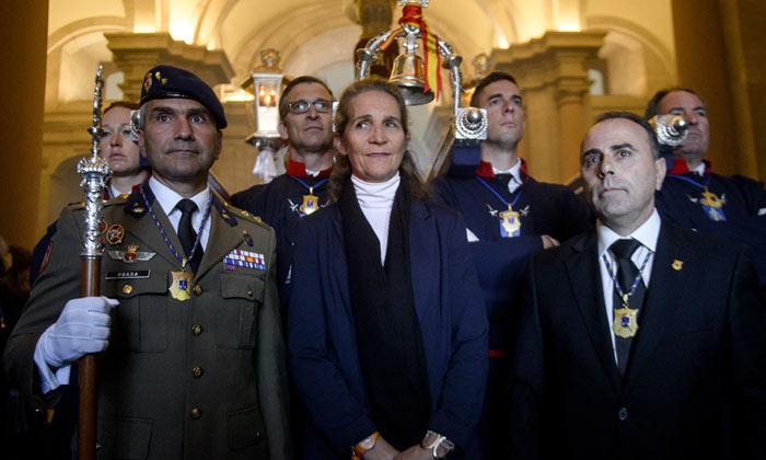 La infanta Elena y la reina Sofía viven la Semana Santa en Madrid y Mallorca