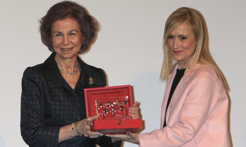 La 'excelencia' de la reina Sofía vuelve a premiarse