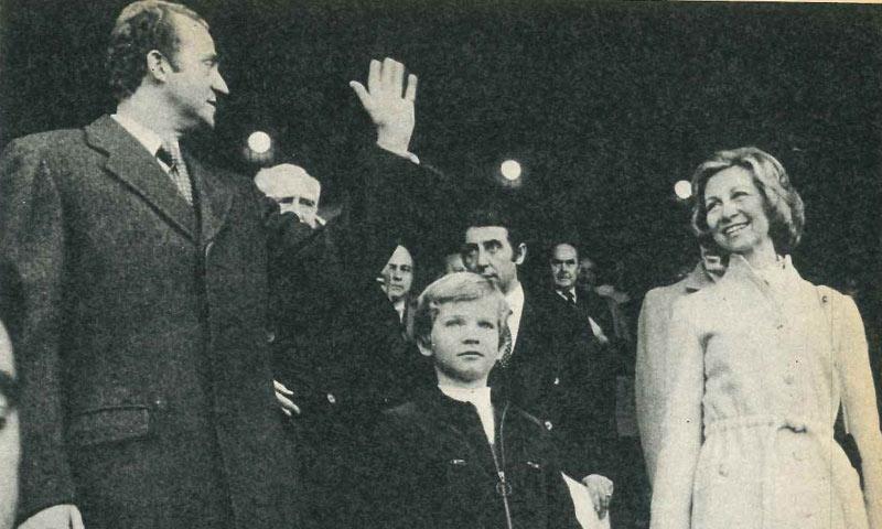 Así fue el primer día del rey Felipe VI en el estadio Vicente Calderón