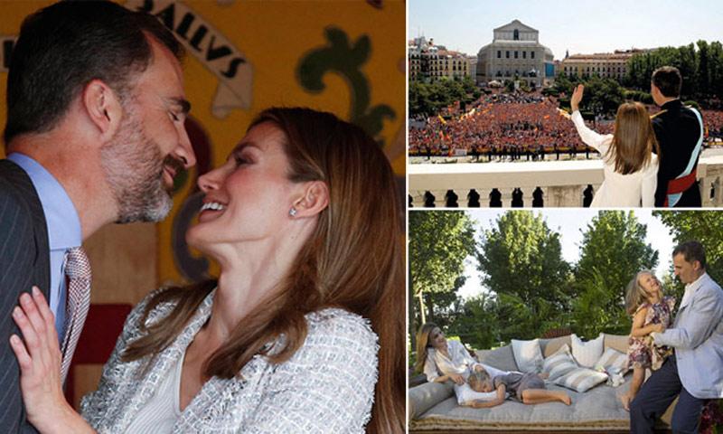 Los doce años de amor de los reyes Felipe y Letizia en doce fotografías para el recuerdo