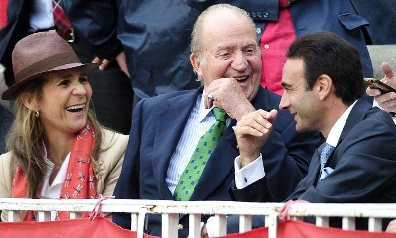 La imagen más simpática de don Juan Carlos con su nieta Victoria Federica