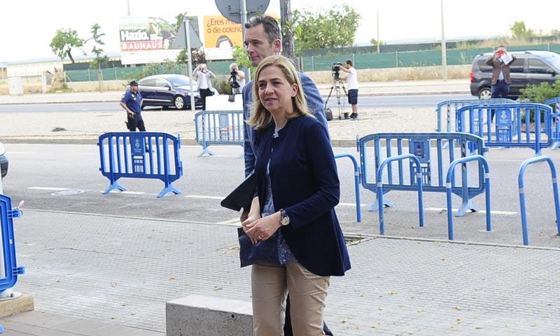 La defensa de la infanta Cristina vuelve a pedir su absolución en el caso Nóos