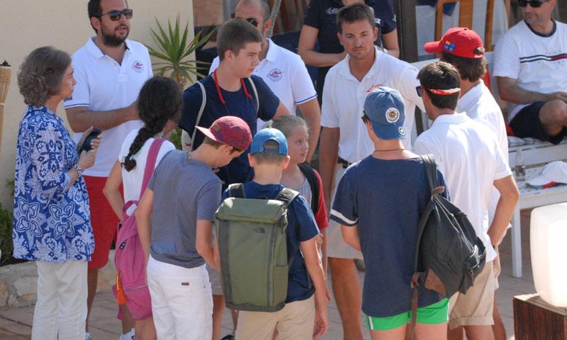 Los Urdangarin se unen a las vacaciones de la Familia Real en Mallorca