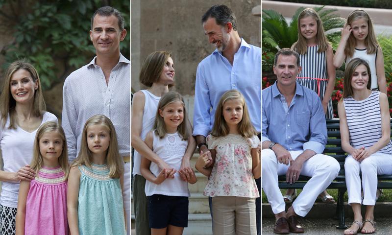 La evolución del posado de la Familia Real en Mallorca