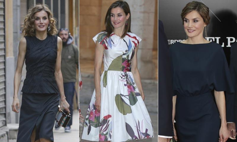 Juan Vidal, Cortana, Carolina Herrera... Nuevos diseñadores entran en el armario de la Reina