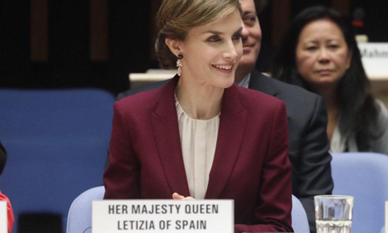 La Reina vuelve a Ginebra con la OMS para mostrar su apoyo a la lactancia materna