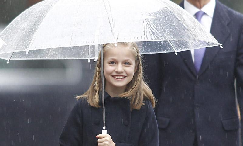 Marcados por la historia: así han sido los últimos cumpleaños de la princesa Leonor