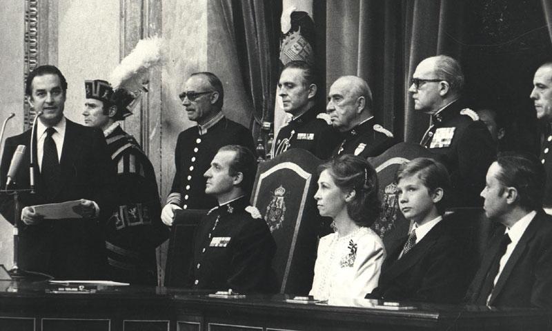 Cómo vivió don Felipe a los once años su primera apertura de una Legislatura