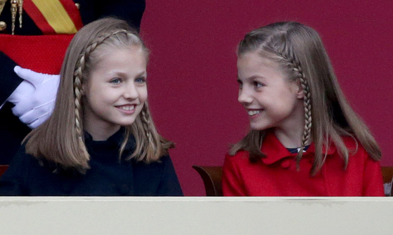 El día que Leonor y Sofía faltarán al colegio