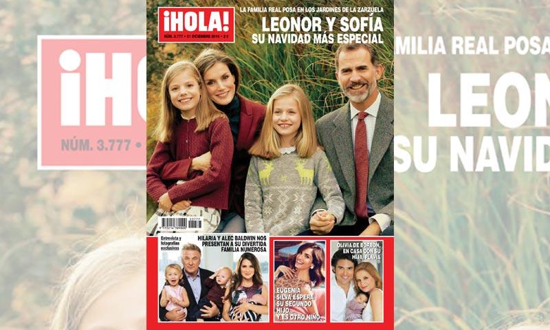 En ¡HOLA!, la Navidad más especial de Leonor y Sofía