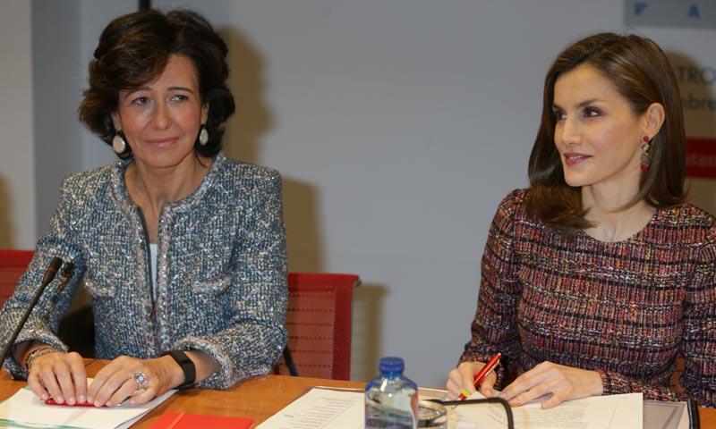 ¿Qué hace la Reina con la mujer más influyente de España?
