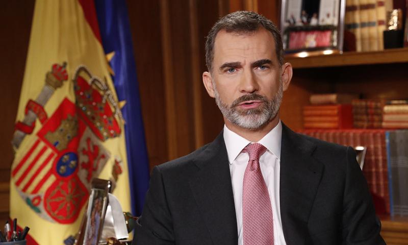 El Rey defiende una España unida de 'manos tendidas' en su tradicional mensaje navideño