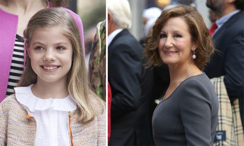 Exclusiva en ¡HOLA!, las fotografías del plan secreto de la infanta Sofía y su abuela Paloma Rocasolano