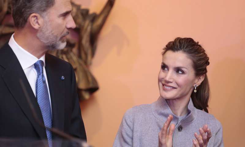 Don Felipe, un cumpleaños de cine junto a la Reina
