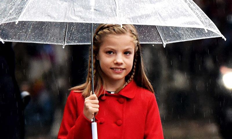En ¡HOLA!, así se educa la infanta Sofía el año de su Primera Comunión