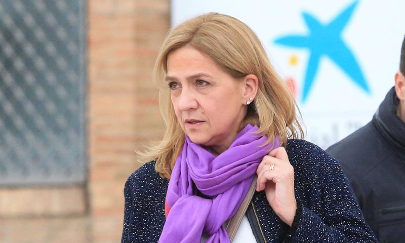 La infanta Cristina, en Barcelona la semana en la que se va a conocer la sentencia del caso Nóos