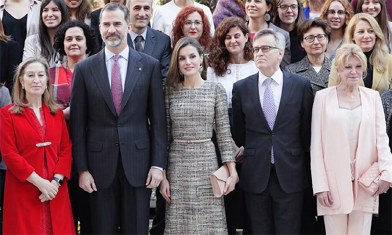 Los Reyes cumplen con su agenda al mismo tiempo que han conocido la absolución de la infanta Cristina