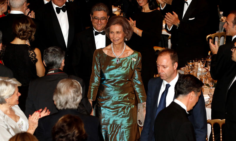 El reconocimiento más emotivo a la reina Sofía días después de la absolución de la infanta Cristina