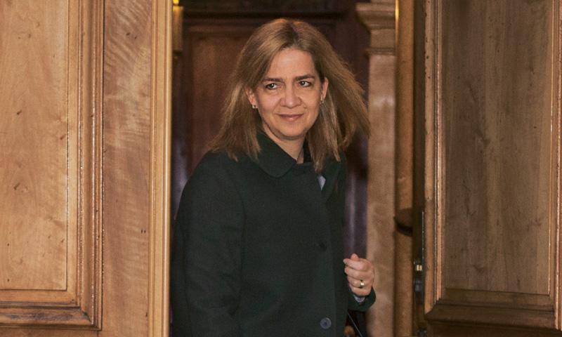 La infanta Cristina llega a Barcelona ante la nueva cita judicial de su marido