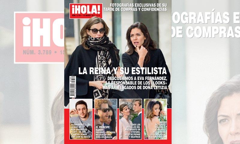 Fotografías exclusivas en ¡HOLA!: la reina Letizia y su estilista Eva Fernández, tarde de compras y confidencias
