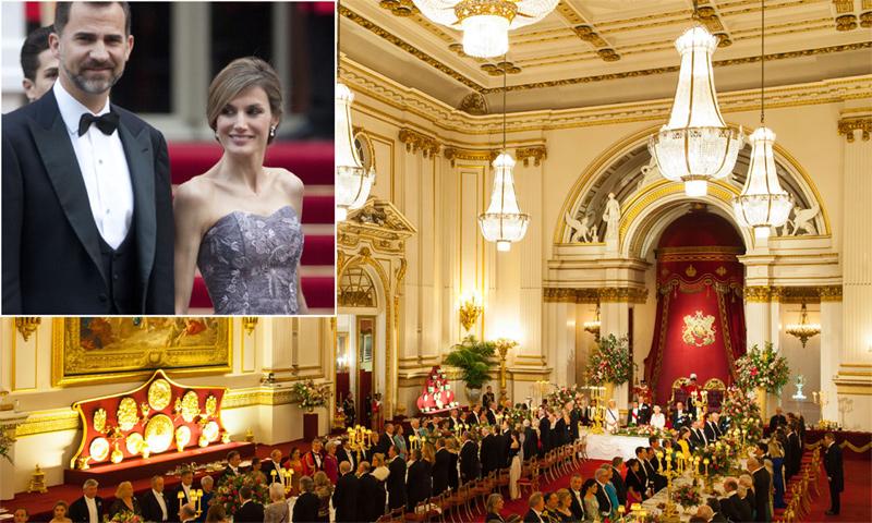 Lo que significa que los Reyes se alojen en Buckingham durante su visita a Reino Unido