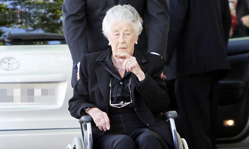 Fallece la infanta Alicia de Borbón-Parma, tía del rey Juan Carlos