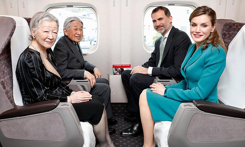 Diario de viaje: Los Reyes, a juego y a toda velocidad en su último día en Japón