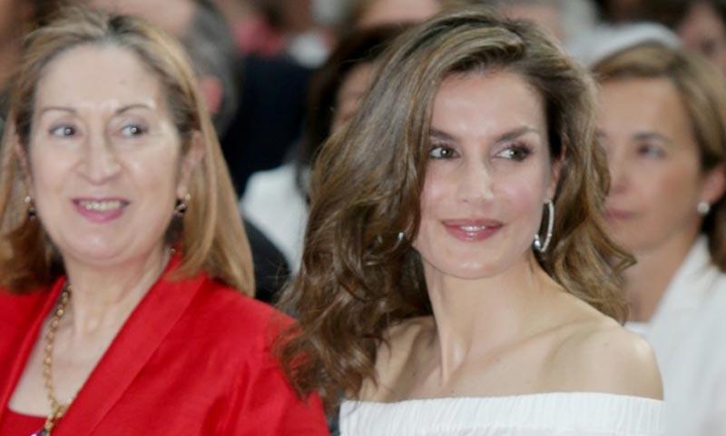 Doña Letizia: 'Hay secretos que, si se comparten, nos alivian'