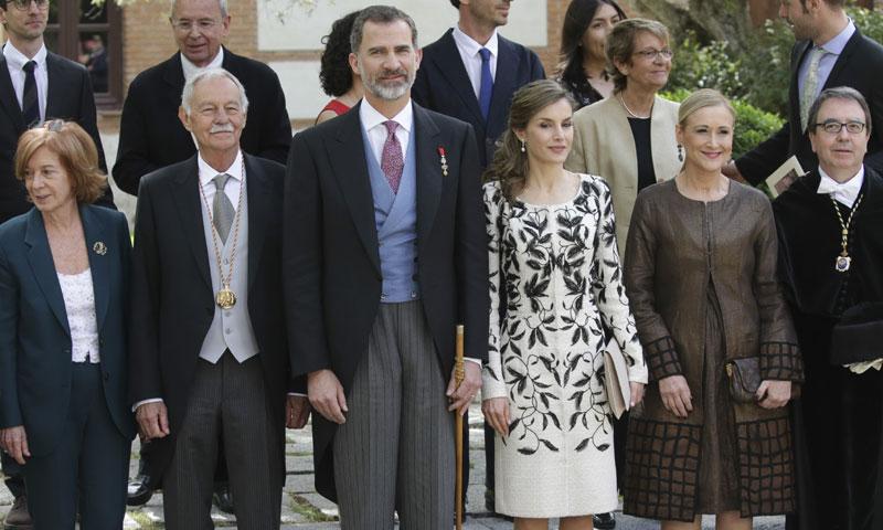 Los reyes Felipe y Letizia presiden la ceremonia de entrega del Premio Cervantes